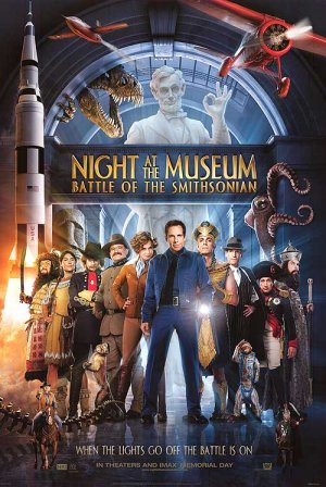 Night at the Museum: Battle of the Smithsonian 500x747
