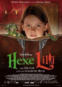 Hexe Lilli: Der Drache und das magische Buch poster