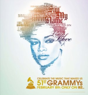 The 51st Annual Grammy Awards 554x600