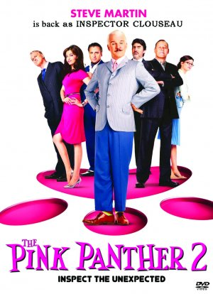 The Pink Panther 2 dvd cover. Copyright by respective production studio