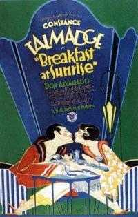 Breakfast at Sunrise poster