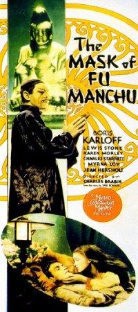 The Mask of Fu Manchu poster