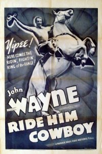 Ride Him, Cowboy poster