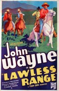 Lawless Range poster