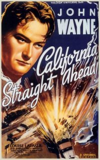 California Straight Ahead! poster