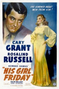 His Girl Friday poster
