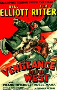 Vengeance of the West poster