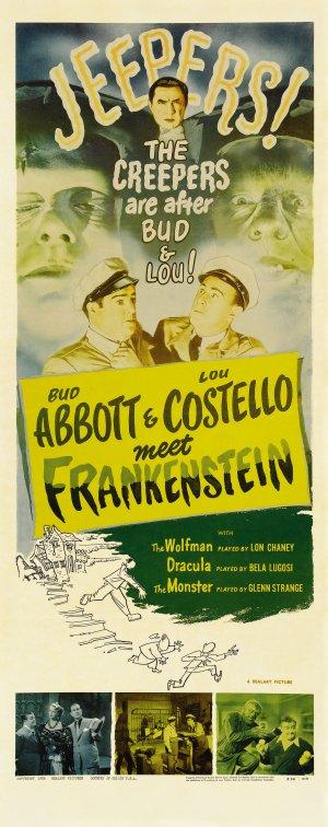 Bud Abbott Lou Costello Meet Frankenstein 1793x4517