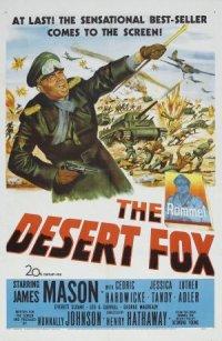 The Desert Fox: The Story of Rommel poster