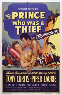 The Prince Who Was a Thief poster