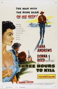 Three Hours to Kill poster