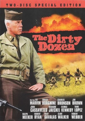 The Dirty Dozen Dvd cover