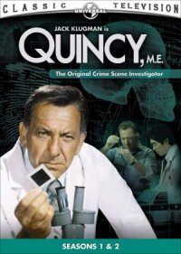 Quincy M.E. poster