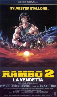 Rambo: First Blood Part II poster