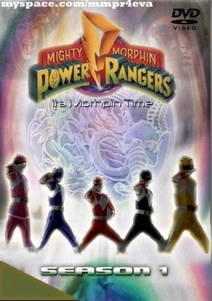 Mighty Morphin Power Rangers 539x763