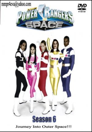 Power Rangers in Space 437x620