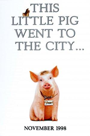 Schweinchen Babe in der großen Stadt 2645x3975
