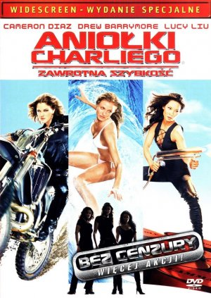 Charlie's Angels 2 Dvd cover