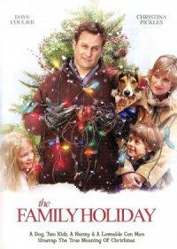 Eine Familie zu Weihnachten poster