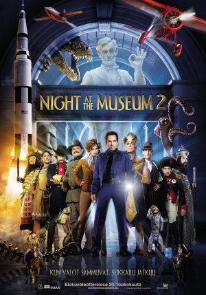 Night at the Museum: Battle of the Smithsonian 2756x3937