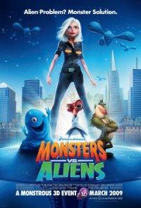 Monster und Aliens poster