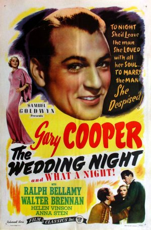 The Wedding Night Re-release poster