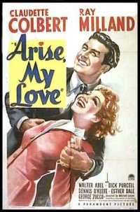 Arise, My Love poster