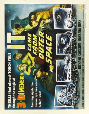 It Came from Outer Space Theatrical poster