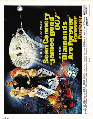 Diamonds Are Forever Theatrical poster