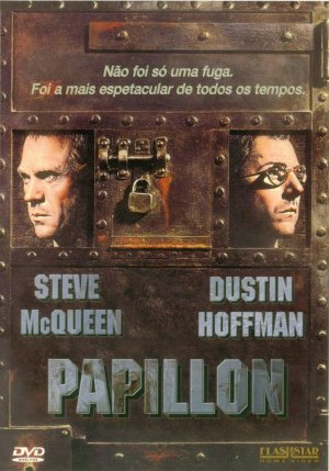 Papillon Dvd cover