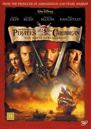 Pirates of the Caribbean: The Curse of the Black Pearl 600x850