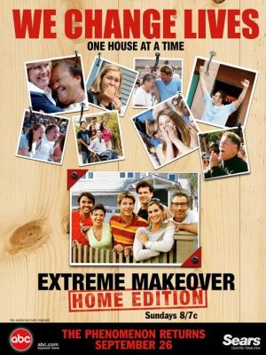 Extreme Makeover: Home Edition 520x693