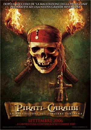Pirates of the Caribbean: Dead Man's Chest 500x712