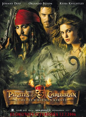 Pirates of the Caribbean: Dead Man's Chest 2007x2724