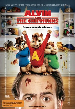 Alvin and the Chipmunks 600x876