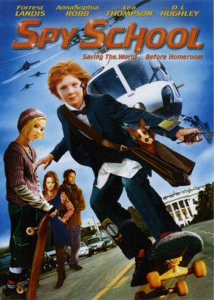 Spy School Dvd cover