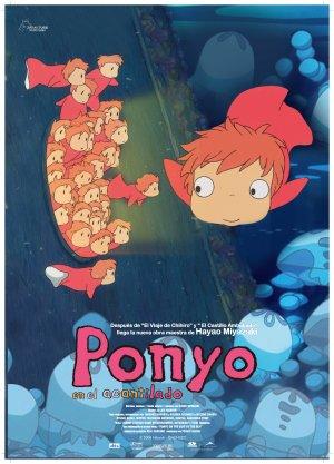 Ponyo en el acantilado 3334x4631