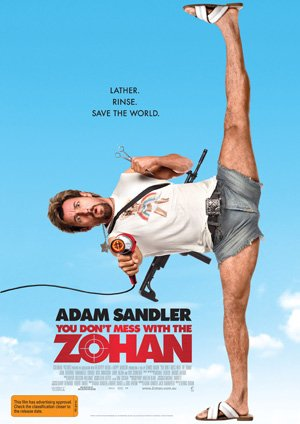 You Don't Mess with the Zohan 300x424
