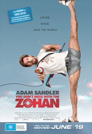 You Don't Mess with the Zohan 326x472