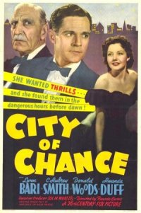 City of Chance poster