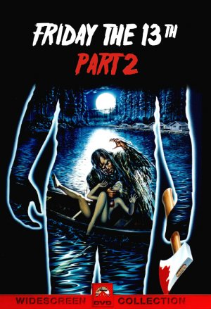 Friday the 13th Part 2 Dvd cover