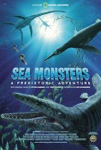 Sea Monsters 3D - Urgiganten der Meere poster