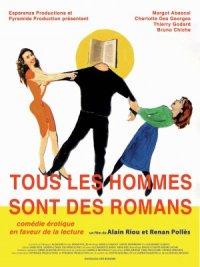 Tous les hommes sont des romans poster