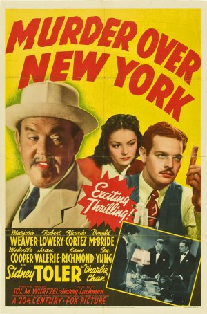 Murder Over New York Poster