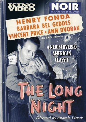 The Long Night Dvd cover