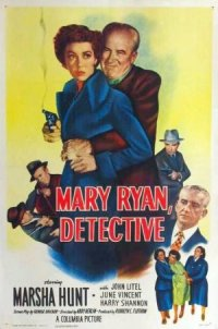 Mary Ryan, Detective poster