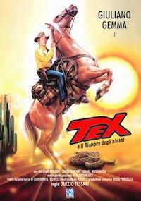 Tex e il signore degli abissi poster