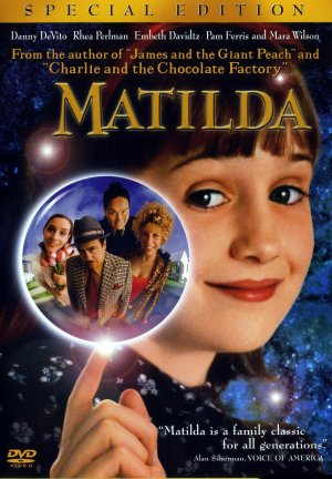 Matilda Dvd cover