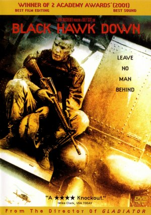 Black Hawk Down Dvd cover