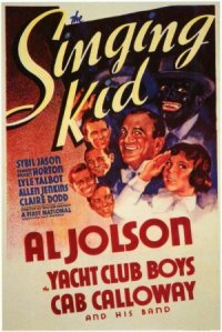 The Singing Kid poster
